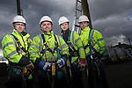 BT Wales Apprentices.<br /> Cross Hands ATE<br /> L-R: Nathan Brooks, Ben Howe, Sam Jenkins  &amp; Lewis Evans.<br /> 03.03.14<br /> <br /> &copy;Steve Pope-FOTOWALES