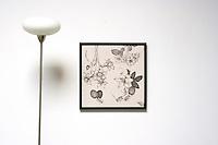"Timothy Berry: Blanco Eden Series<br /> Dimensions of each artwork is Framed Dims: 21.75"" x 21""  Image Dims. 19.75"" x 19.75"" Medium, Digital Print"