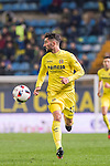 Álvaro González Soberón of Villarreal CF in action during their Copa del Rey 2016-17 Round of 16 match between Villarreal and Real Sociedad at the Estadio El Madrigal on 11 January 2017 in Villarreal, Spain. Photo by Maria Jose Segovia Carmona / Power Sport Images