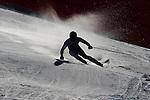 Matthias Mayer competes during the FIS Alpine Ski World Cup Men's Super-G in Val Gardena, on December 18, 2015. www.pierreteyssot.com