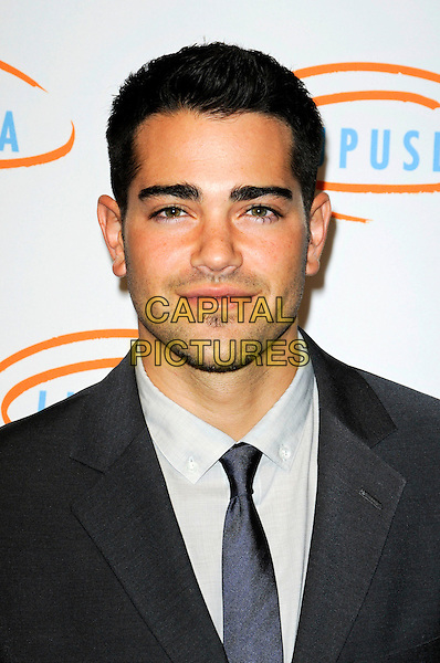 JESSE METCALFE.Lupus LA's 7th Annual Bag Ladies Luncheon to raise funds for lupus research at the Beverly Wilshire Four Seasons Hotel in Beverly Hills, California, USA..November 18th, 2009.headshot portrait grey gray tie stubble  facial hair .CAP/ROT.©Lee Roth/Capital Pictures