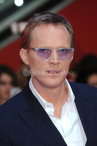 LONDON, ENGLAND - APRIL 26: Paul Bettany attends the European premiere of Captain America: Civil War at Westfield Shopping Centre on April 26, 2016 in London, England.<br /> CAP/BEL<br /> &copy;BEL/Capital Pictures /MediaPunch ***NORTH AMERICAN AND SOUTH AMERICAN SALES ONLY***