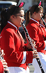 Heather Vo marches with the Pau-Wa-Lu Middle School band in the annual Nevada Day Parade in Carson City, Nev., on Saturday, Oct. 28, 2011..Photo by Cathleen Allison