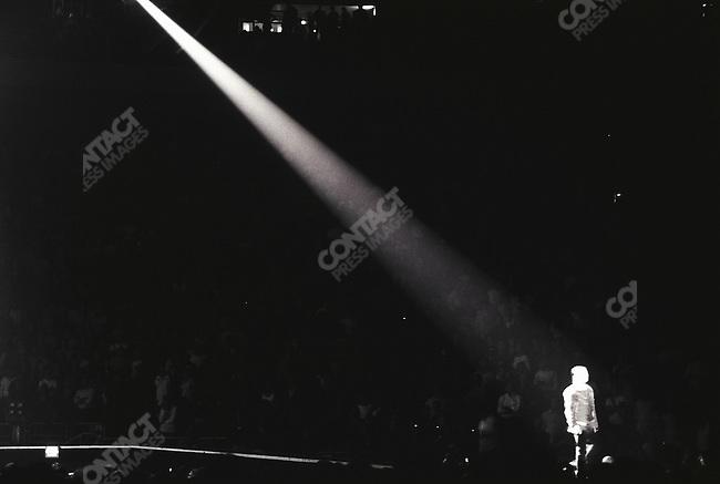 Bono, lead singer of U2 and social activist. New York City, October 2005.