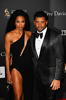 BEVERLY HILLS, CA- FEBRUARY 09: Ciara and Russell Wilson at the Clive Davis Pre-Grammy Gala and Salute to Industry Icons held at The Beverly Hilton on February 9, 2019 in Beverly Hills, California.      <br /> CAP/MPI/IS<br /> &copy;IS/MPI/Capital Pictures