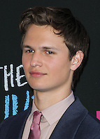 NEW YORK CITY, NY, USA - JUNE 02: Ansel Elgort at the New York Premiere Of 'The Fault In Our Stars' held at Ziegfeld Theatre on June 2, 2014 in New York City, New York, United States. (Photo by Jeffery Duran/Celebrity Monitor)