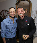 Matthew Sklar and Andrew Lippa attends the Dramatists Guild Fund Salon with Matthew Sklar and Chad Beguelin at the home of Gretchen Cryer on December 8, 2016 in New York City.