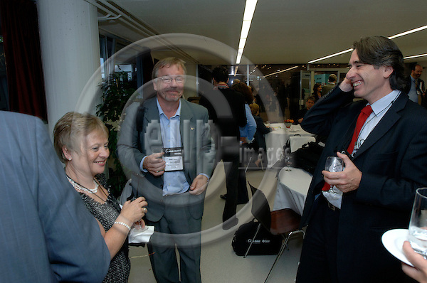 GENEVA - SWITZERLAND 11. 10. 2006 -- The World of Health IT. Speaker's reception -- PHOTO: GORM K. GAARE / EUP- IMAGES ...