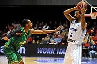 GRONINGEN - Basketbal , Donar - Petrolina AEK, Europe Cup, seizoen 2018-2019, 30-01-2019,  Donar speler Jason Dourisseau