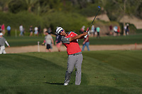 Kurt Kitayama (USA) on the 16th fairway during Round 3 of the Abu Dhabi HSBC Championship at the Abu Dhabi Golf Club, Abu Dhabi, United Arab Emirates. 18/01/2020<br /> Picture: Golffile | Thos Caffrey<br /> <br /> <br /> All photo usage must carry mandatory copyright credit (© Golffile | Thos Caffrey)