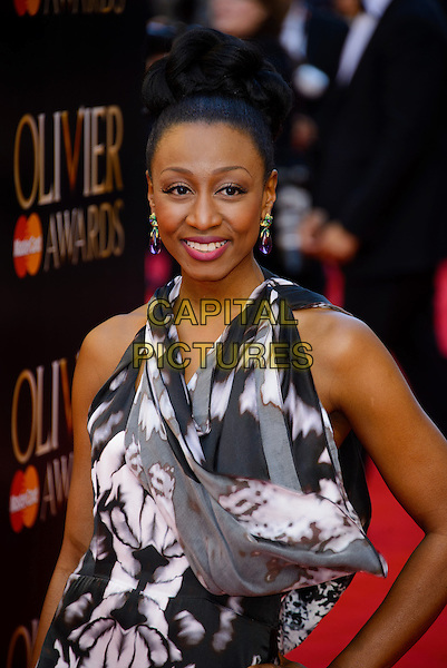 LONDON, ENGLAND - APRIL 13: Beverley Knight attends the Olivier Awards 2014 at the Royal Opera House on April 13, 2014 in London, England. <br /> CAP/CJ<br /> &copy;Chris Joseph/Capital Pictures