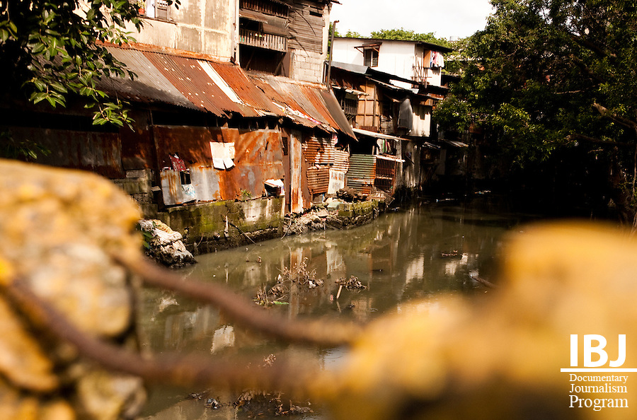 Pollution is a major problem in the Philippines.  The Pasig River runs through the city, but it and it's tributaries are heavily polluted.
