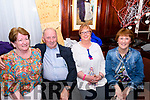 Seen at the Callinafercy Rowing Club Fundraising Dance in The Manor Inn Killorglin on Friday Evening<br /> L-R Eileen Kennedy, Michael Kennedy, Mary O'Neill McDonald, Aisling Murphy.