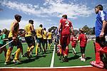 Day 1 Australia v Belgium