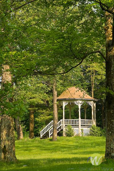 Village Gazebo in Spring, Eagles Mere, PA