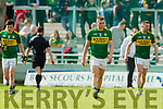 z Kerry in action against  Cork in the National Football league in Austin Stack Park, Tralee on Sunday.