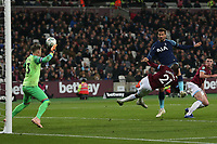 Fernando Llorente of Tottenham Hotspur scores the third goal during West Ham United vs Tottenham Hotspur, Caraboa Cup Football at The London Stadium on 31st October 2018