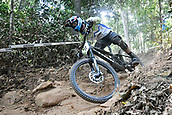 8th September 2017, Smithfield Forest, Cairns, Australia; UCI Mountain Bike World Championships; Jure Zabjek (SLO) riding for Unior Tools Team during the downhill official timed session;