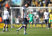 Preston North End's players look dejected<br /> <br /> Photographer Mick Walker/CameraSport<br /> <br /> The EFL Sky Bet Championship - Preston North End v Norwich City - Monday 17th April 2017 - Deepdale - Preston<br /> <br /> World Copyright &copy; 2017 CameraSport. All rights reserved. 43 Linden Ave. Countesthorpe. Leicester. England. LE8 5PG - Tel: +44 (0) 116 277 4147 - admin@camerasport.com - www.camerasport.com