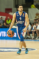 Anadolu Efes´s Dogus Balbay during 2014-15 Euroleague Basketball match between Real Madrid and Anadolu Efes at Palacio de los Deportes stadium in Madrid, Spain. December 18, 2014. (ALTERPHOTOS/Luis Fernandez) /NortePhoto /NortePhoto.com