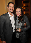 Dana and Mike Madden at a dessert reception for Louis Gossett Jr. and the Anti-Defamation League at Chateau Carnarvon Tuesday Nov. 11, 2014.(Dave Rossman photo)