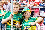 Kerry Fans at Fitzgerald Stadium l-r: John and William Harrington, Killarney.