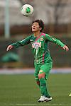 Saori Ariyoshi (Beleza), .MARCH 23, 2013 - Football /Soccer : .Plenus Nadeshiko League 2013 .between NTV Beleza 2-0 FC Kibikokusaidaigaku Charme .at Ajinomoto Stadium West Field, Tokyo, Japan. .(Photo by YUTAKA/AFLO SPORT) [1040]