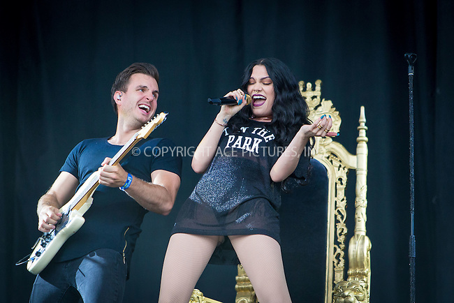 WWW.ACEPIXS.COM<br /> <br /> July 11 2015, Strathallen Castle <br /> <br /> Jessie J plays on the Main Stage at T In The Park at its new home of Strathallen Castle on July 11 2015 in Scotland<br /> <br /> By Line: Famous/ACE Pictures<br /> <br /> <br /> ACE Pictures, Inc.<br /> tel: 646 769 0430<br /> Email: info@acepixs.com<br /> www.acepixs.com