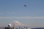 SEATTLE, WASHINGTON, USA ,Parachuting , Mt. Rainier