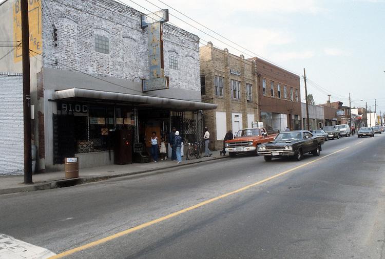1982 October..Redevelopment.Church Street..1000 BLOCK.GARDEN OF PRAYER CHURCH...NEG#.NRHA#..