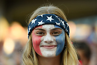 Carson, CA - Thursday August 03, 2017: Fan during a 2017 Tournament of Nations match between the women's national teams of the United States (USA) and Japan (JPN) at the StubHub Center.