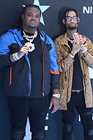 LOS ANGELES, CA - JUNE 23: Tee Grizzley and PnB Rock at the 2019 BET Awards at the Microsoft Theater in Los Angeles on June 23, 2019. Credit: Walik Goshorn/MediaPunch