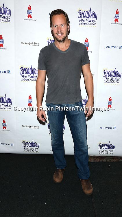 Patrick Wilson attends the 28th Annual  Broadway Cares/ Equity Fights Aids Flea Market and Auction on September 21,2014 in Shubert Alley in New York City. <br /> <br /> photo by Robin Platzer/Twin Images<br />  <br /> phone number 212-935-0770