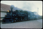 K-36 #488 with flat car and gondola<br /> D&amp;RGW  Chama, NM