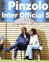 Pinzolo, Trentino Team - Inter Milan; Mario Corso with Bedy Moratti  who passed away at 78 years old,  Nicknamed God's Left Foot he played many years for Inter Milan and the Italian national team