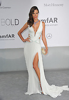 Alessandra Ambrosio  at the 21st annual amfAR Cinema Against AIDS Gala at the Hotel du Cap d'Antibes.<br /> May 22, 2014  Antibes, France<br /> Picture: Paul Smith / Featureflash