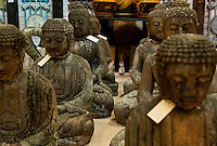 Buddha statues in an asian import store.