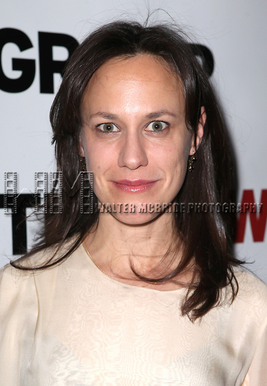 Stephanie Janssen attending Opening Night Party for the New Group World Premiere production of 'Clive' at the West Bank Cafe  in New York City on 2/7/2013