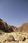 Israel, Shehoret Canyon in Eilat mountains
