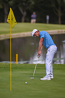 Bryson DeChambeau (USA) watches his putt on 6 during round 1 of the World Golf Championships, Mexico, Club De Golf Chapultepec, Mexico City, Mexico. 2/21/2019.<br /> Picture: Golffile | Ken Murray<br /> <br /> <br /> All photo usage must carry mandatory copyright credit (© Golffile | Ken Murray)