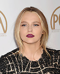 HOLLYWOOD, CA - JANUARY 28: Actress Teresa Palmer arrives at the 28th Annual Producers Guild Awards at The Beverly Hilton Hotel on January 28, 2017 in Beverly Hills, California.