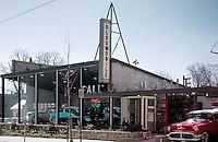 Fall Oldsmobile Car Dealership in Philadelphia, PA 1958.