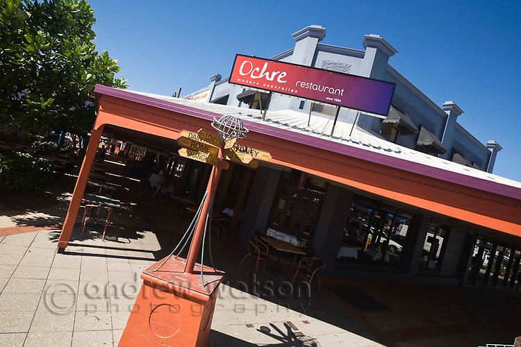 Ochre Restaurant.  Cairns, Queensland, Australia