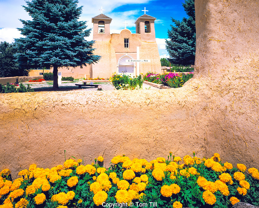 Mission San Francisco de Asis, Ranchos de Taos, Taos, New Mexico, June 1999