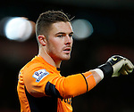 Jack Butland of Stoke City - Capital One Cup Quarter-Final - Stoke City vs Sheffield Wednesday - Britannia Stadium - Stoke - England - 1st December 2015 - Picture Simon Bellis/Sportimage