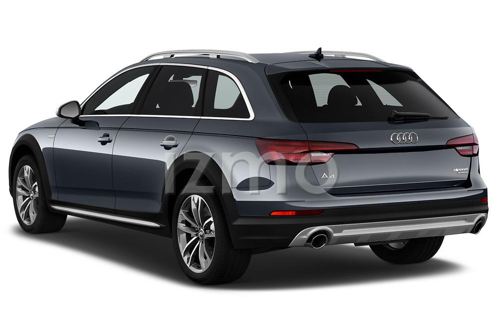 Car pictures of rear three quarter view of a 2018 Audi allroad Premium 5 Door Wagon angular rear