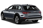 Car pictures of rear three quarter view of a 2018 Audi allroad Premium 5 Door Wagon angular rear