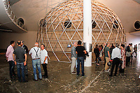 SAO PAULO,SP, 04.08.2015 - EXPOSIÇÃO-SP - A exposição Invento, é inaugurada nesta terça-feira, 4, para convidados na Oca, no Parque do Ibirapuera, zona sul de São Paulo, nesta terça-feira (4). A exposição abre para o publico na quarta-feira (5) (Foto: Douglas Pingituro / Brazil Photo Press)