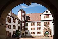Germany, Thuringia, Schmalkalden: Wilhelmsburg castle | Deutschland, Thueringen, Fachwerk- und Hochschulstadt Schmalkalden: Schloss Wilhelmsburg