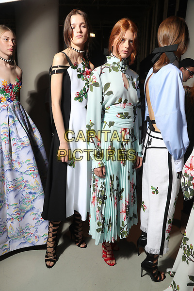 ANDREW GN<br /> backstage at Spring/Summer 2018 Ready-to-Wear Fashion Show at Paris Fashion Week in Paris, France in September 2017.<br /> CAP/GOL<br /> &copy;GOL/Capital Pictures